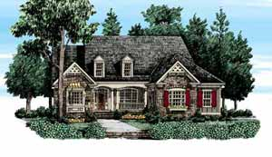 Southern Living Barrington Hills Floorplan