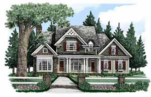 Southern Living Home Plans - Bucknell Place