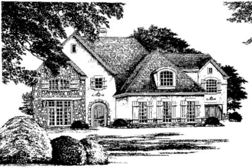 Action Builders Inc.   Southern Living Floor Plans Luberon Elevation