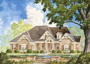 Southern Living Home Plans - Magnolia Springs