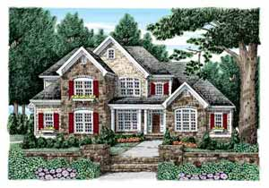 Southern Living McFarlin Park Floorplan