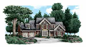 Action Builders Inc. - Southern Living Floor Plans River Forest Elevation