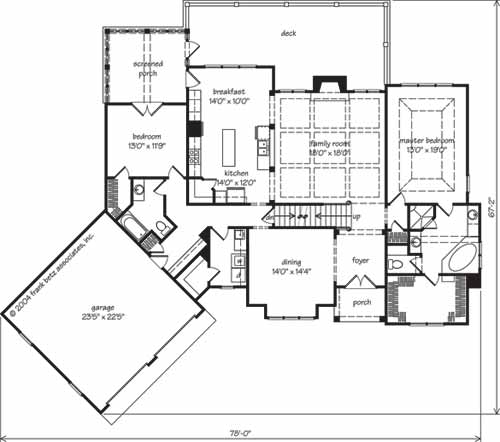Southern living custom builder action builders inc for Home planners inc house plans