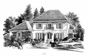 Southern Living Home Plans - Vacherie Point