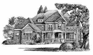 Southern Living Walker's Bluff Floorplan