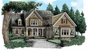Southern Living Home Plans - Wellston Place